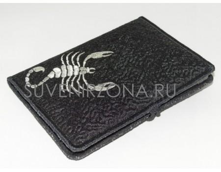 Купить обложку на паспорт Скорпион