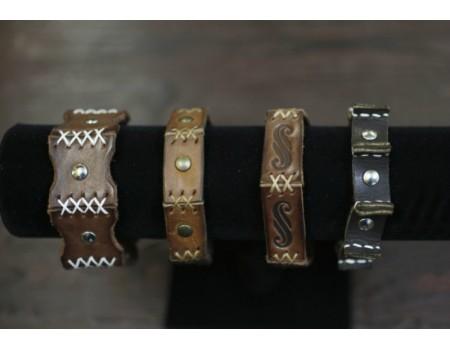 Купить браслеты из натуральной  кожи