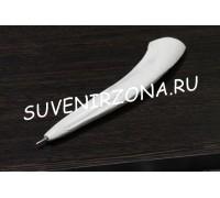 Шариковая ручка из рога лося «Пистоль»