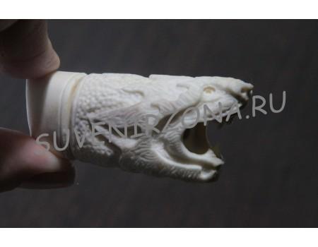 Купить USB Флеш карту 16 Гб  «Мини дракон» из рога лося