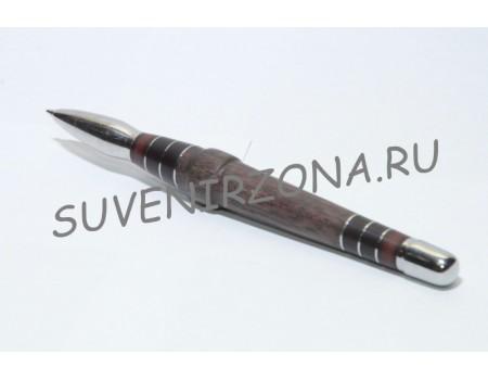 Купить шариковую ручку «Вена» в чехле (эбонит, дерево, металл)