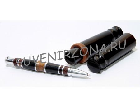 Купить шариковую ручку «София» в чехле-футляре  (эбонит, металл, текстолит и дерево)