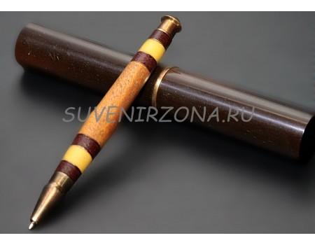 Купить шариковую ручку ручной работы «Лучик тепла»