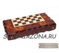 Нарды-шахматы ручной работы «Классика»