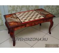 Шахматный стол «Ледовое побоище 2»
