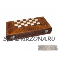 Нарды-шахматы ручной работы «Классика 1»