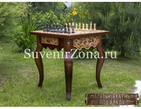 """Купить шахматный стол ручной работы """"Вдохновение 1"""""""
