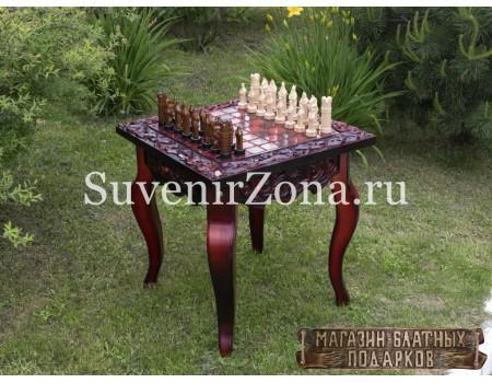 """Купить шахматный стол ручной работы """"Вдохновение 3"""""""