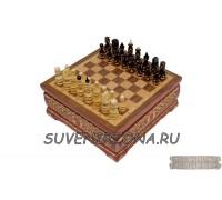 Шахматы ручной работы «Княжеские»