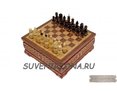 Купить шахматы ручной работы «Княжеские»