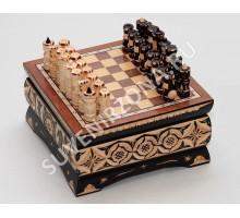 Шахматы ручной работы «Миниатюрные»