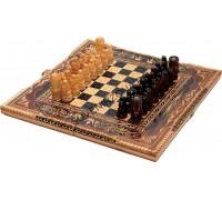 Шахматы ручной работы «Ажурные»