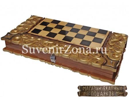 Купить шахматы ручной работы «Ажурные»