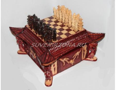 Купить шахматный стол «Самурай»