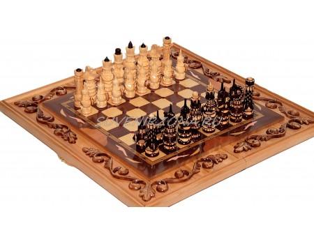 Купить шахматы-нарды «Дубовые»