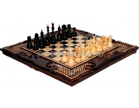 Купить шахматы ручной работы «Ахмат»