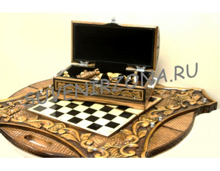 Купить шахматы-нарды «Альфа-Начало»