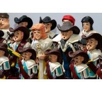 Шахматный комплект «Один за всех»