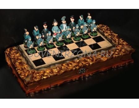 Купить набор нард и шахмат с ларцом «Анекдот»
