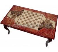 Стол игровой Шахматы-Нарды-Шашки «Монгол»