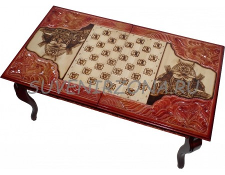 Купить игровой стол Шахматы-Нарды-Шашки «Монгол»