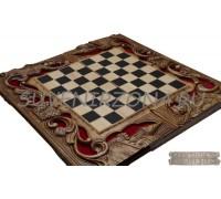 Шахматы-нарды ручной работы «Классика»