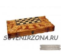 Шахматы ручной работы «Город»