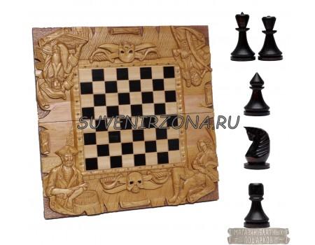 Купить шахматы-нарды «Каналья»